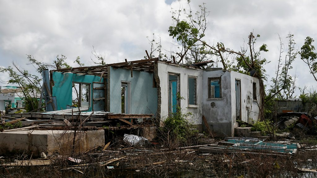 Barbuda's PM blames climate change for hurricane damage