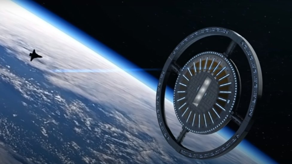 Space tourism: Plans for world's first space hotel to open in 2027 - CBBC Newsround