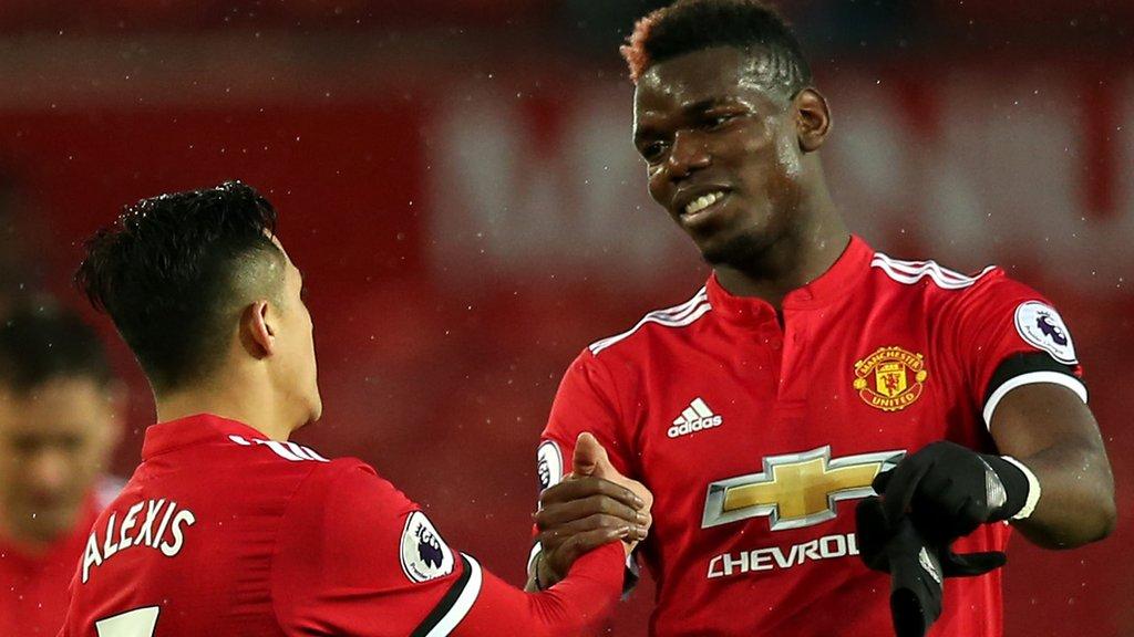 Manchester United v Chelsea: Did Paul Pogba make your combined XI?