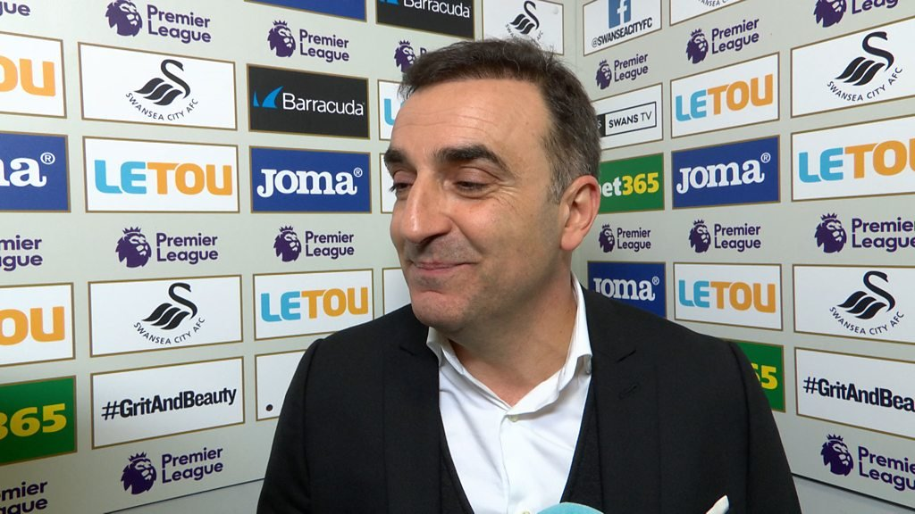 Swansea 1-0 Liverpool: It was our night - Carlos Carvalhal