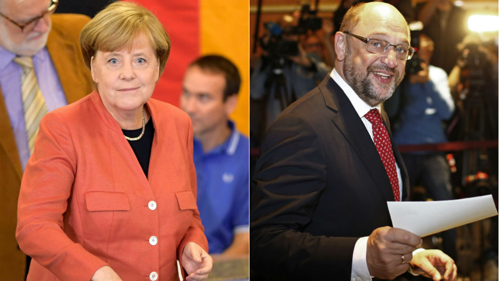 Germany election: Merkel seeks fourth term