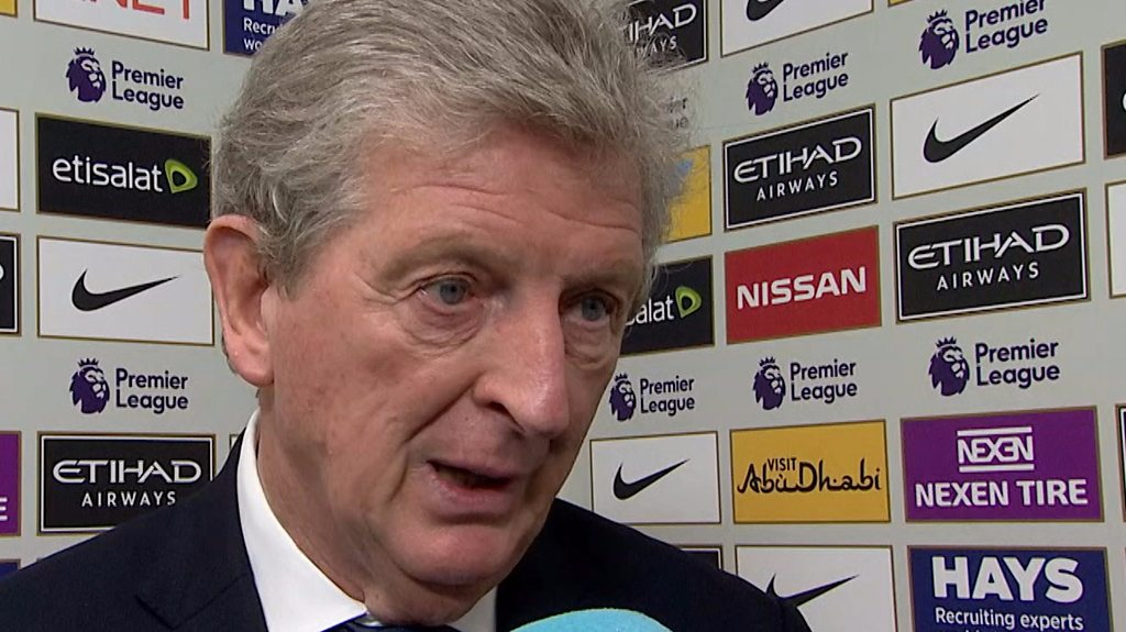 Manchester City 5-0 Crystal Palace: Eagles have a lot of work to do - Roy Hodgson