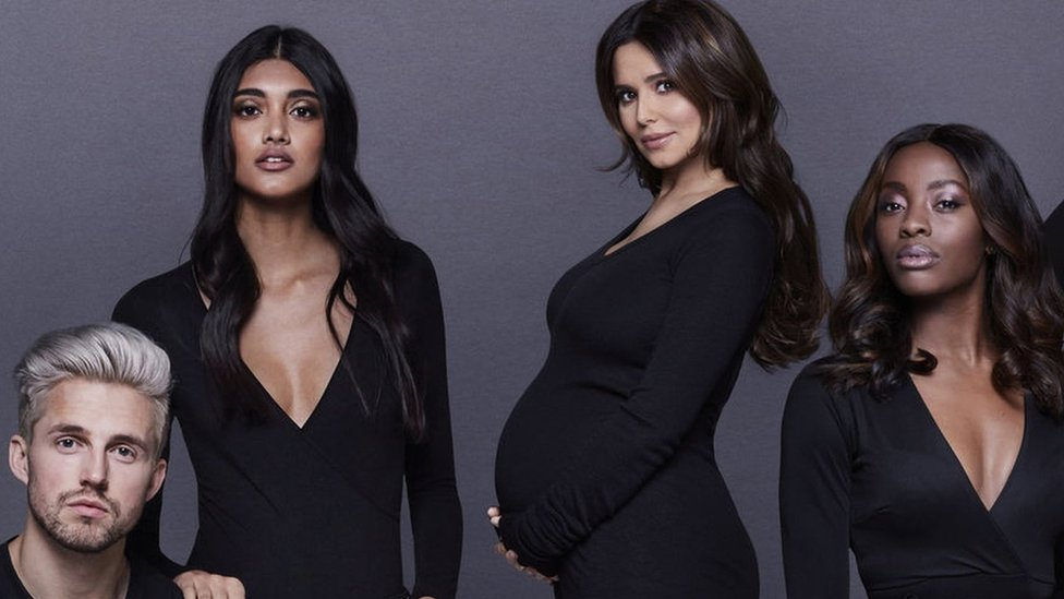 Cheryl 'confirms' her pregnancy in photo from youth charity campaign launch