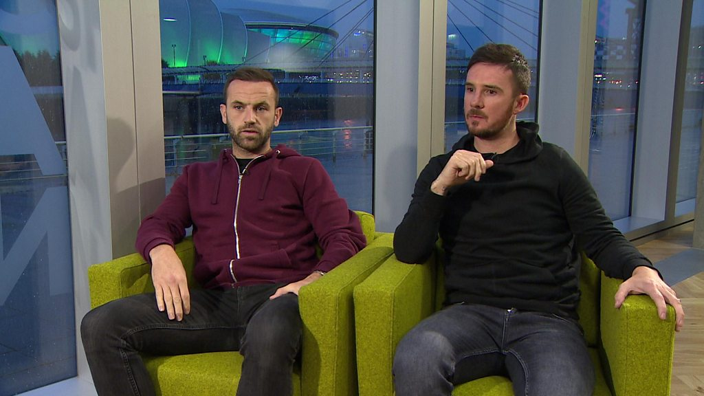 'It's a 50-50 game' - Barry Ferguson and James McFadden on Rangers v Motherwell