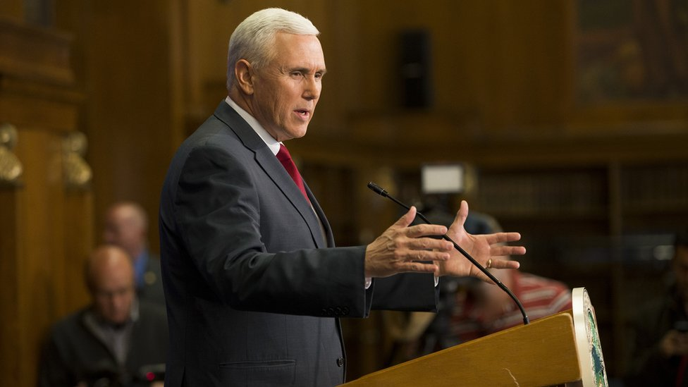 Governor Mike Pence has been fielding calls from women about their periods