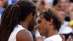 Dustin Brown, Rafael Nadal