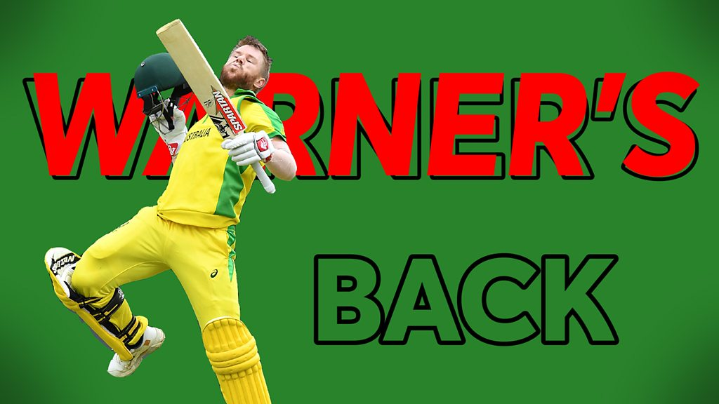 Cricket World Cup: Watch David Warner's best shots in first century since return from ban