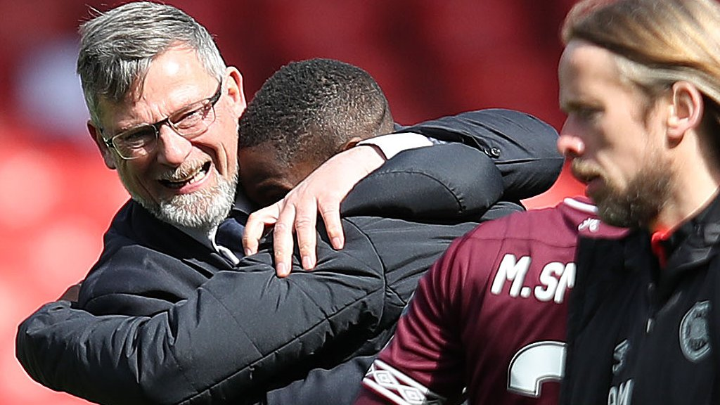 Hearts 3-0 Inverness CT: Craig Levein praise for 'clear heads'