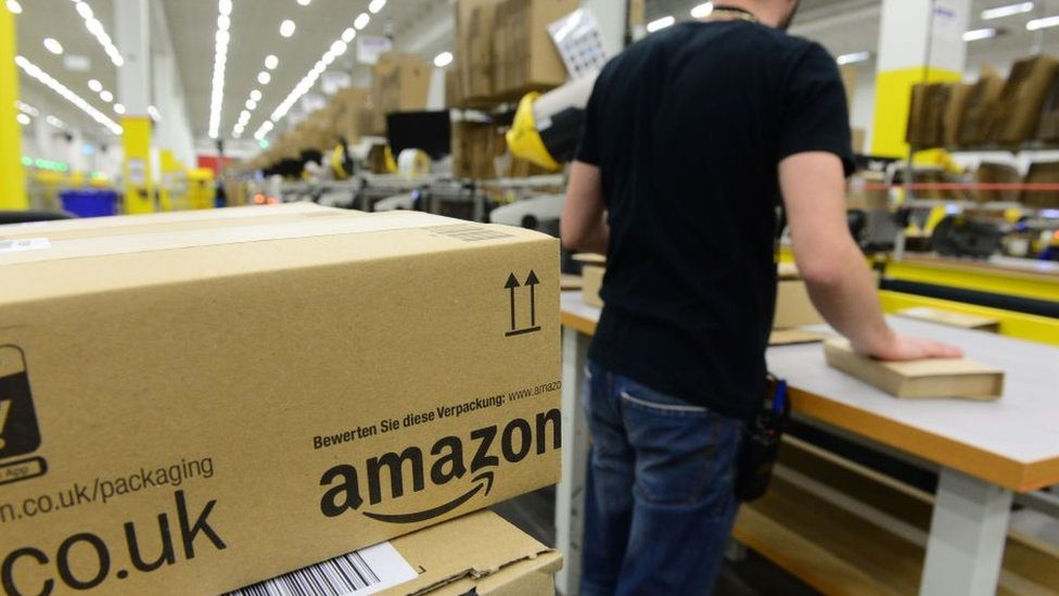 Amazon's European workers strike as Prime promotion continues | BBC