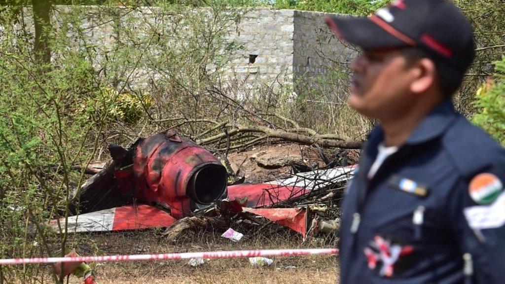 Aero India: One dead as planes crash during rehearsal
