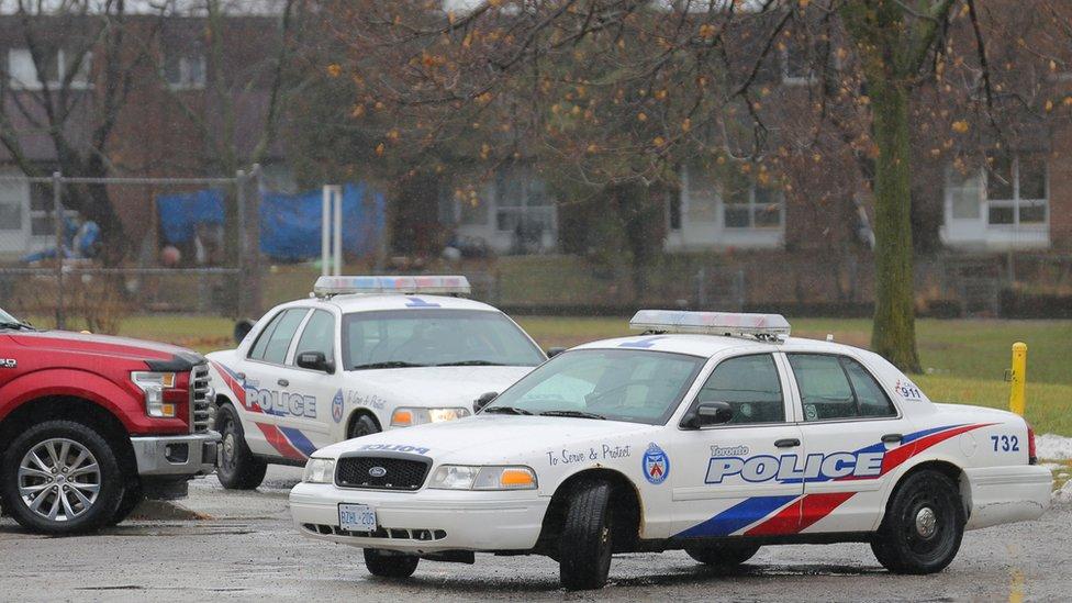Mobil polisi Toronto