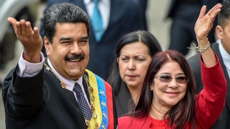 US imposes sanctions on Venezuela's First Lady Cilia Flores