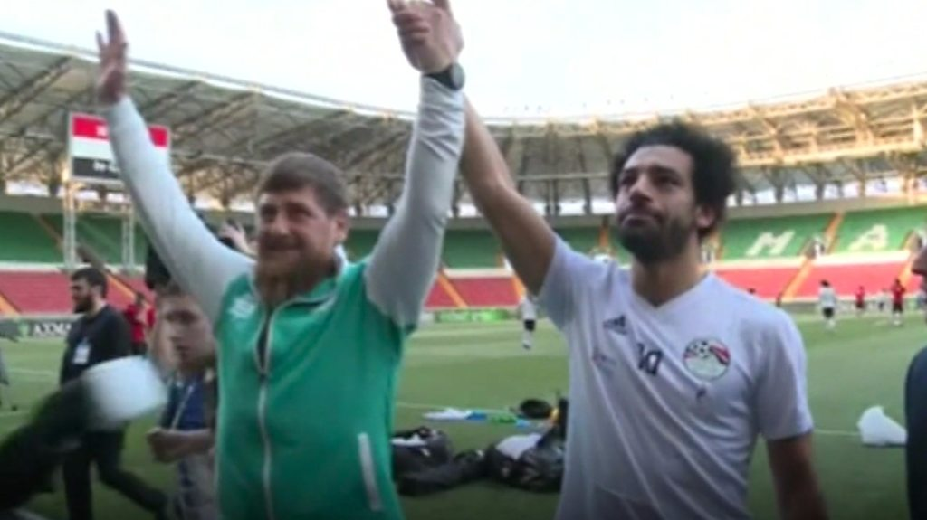 Mo Salah and the Chechen strongman