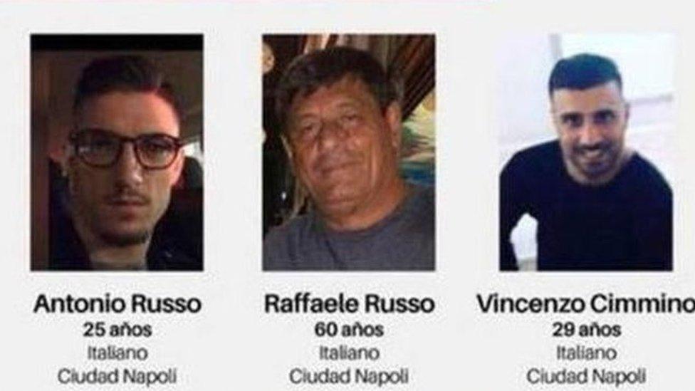 إيطاليون مختفون في المكسيك