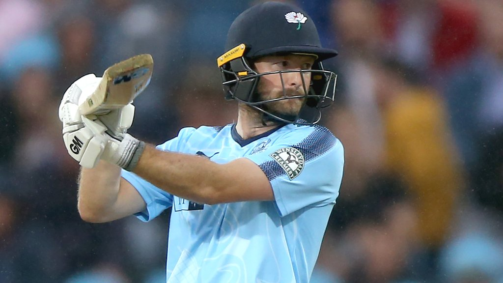 Lyth's 161 helps Yorkshire set record T20 total - report & highlights