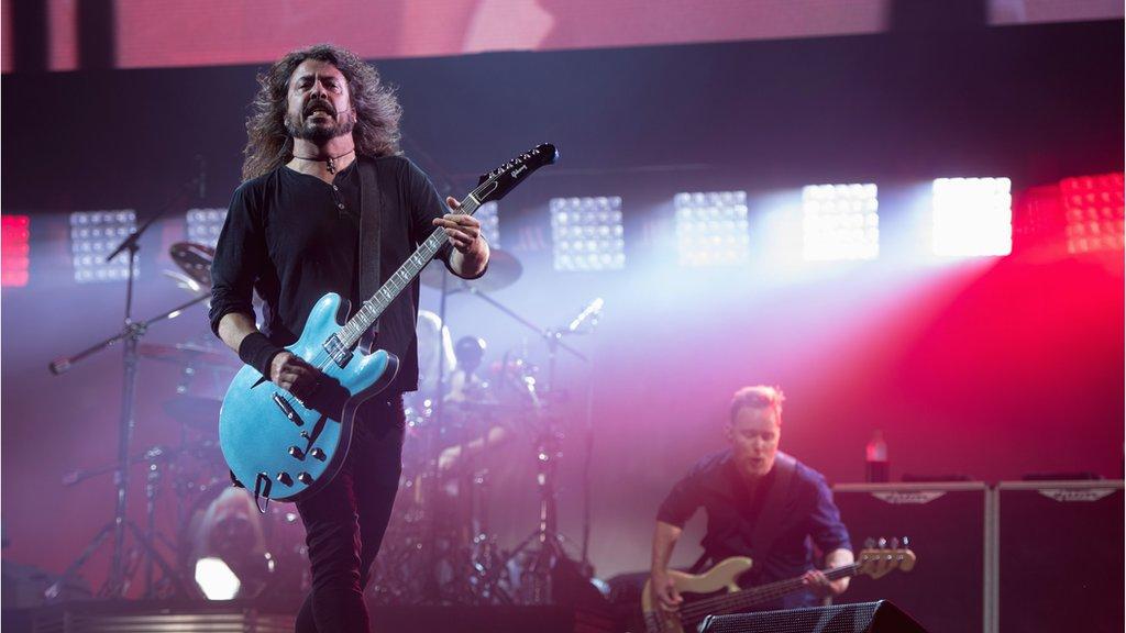Foo Fighters finally headline Glastonbury
