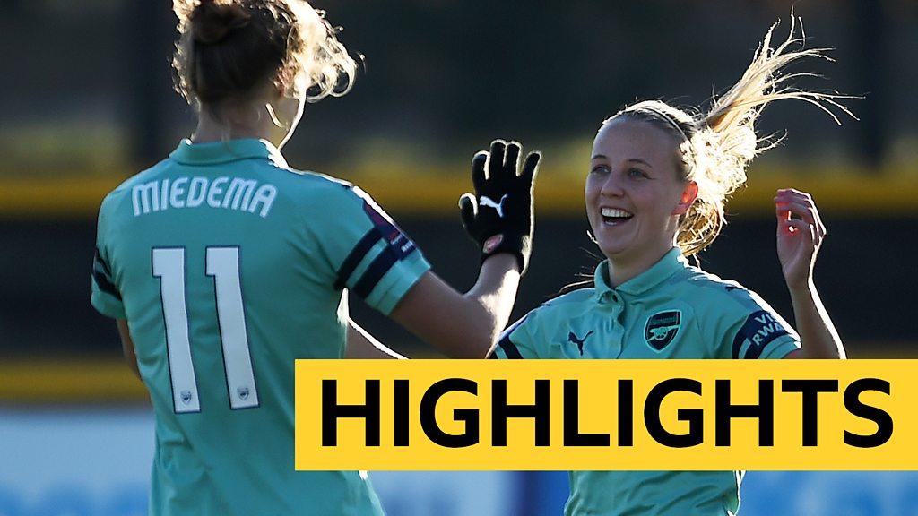 WSL Highlights: Everton Ladies 0-4 Arsenal Women