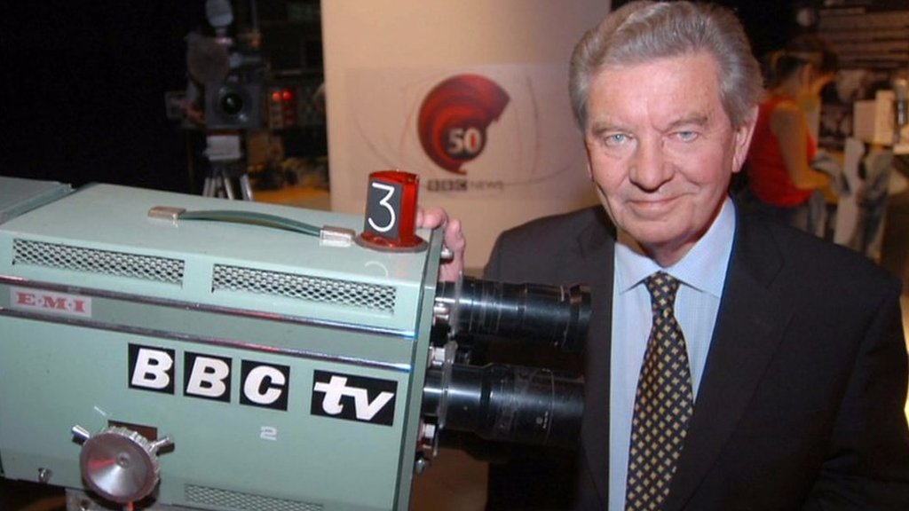 Broadcasting icon Richard Baker dies at 93