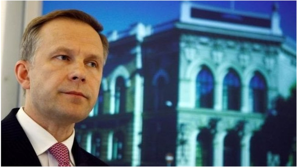 Очільника Банку Латвії затримало антикорупційне відомство