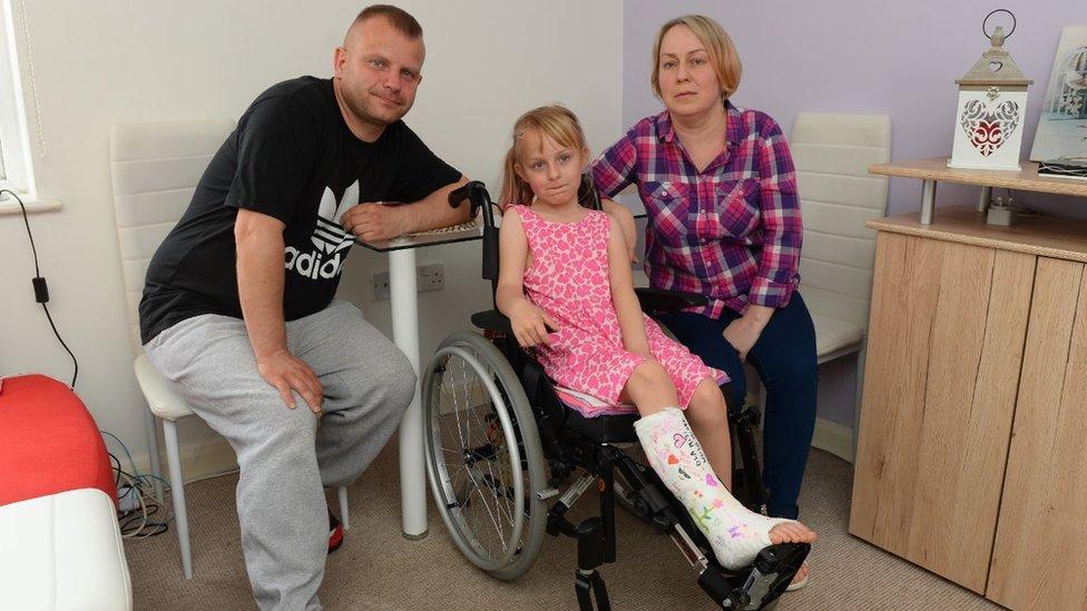 Girl hurt in Splott hit-and-run returns to school