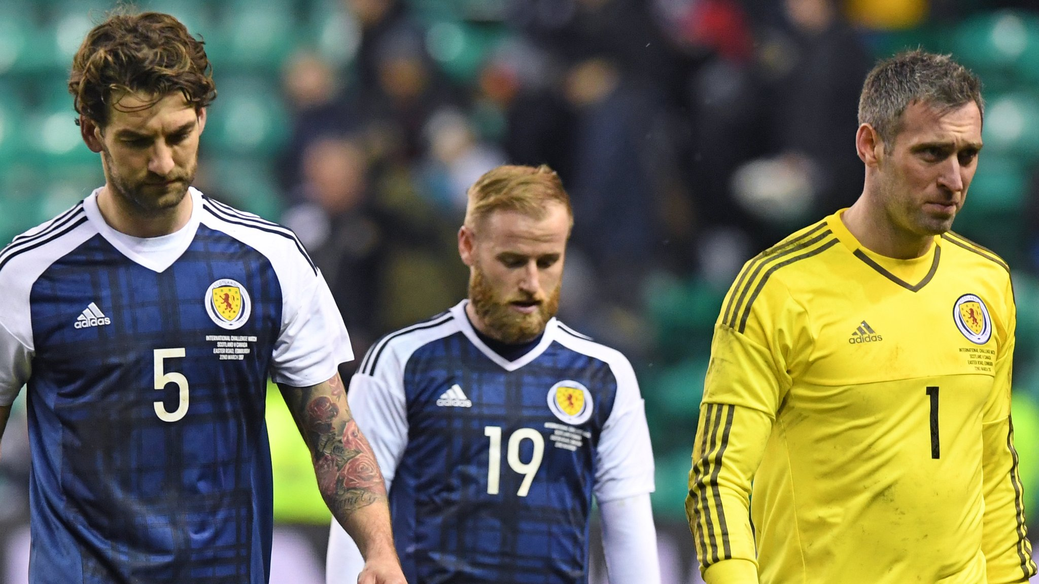Scotland labour to home draw with Canada