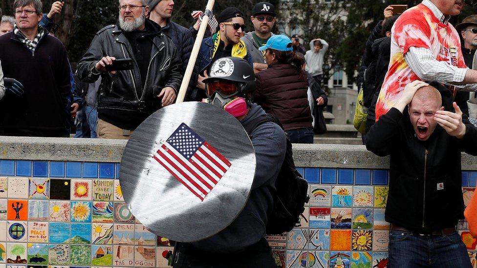 Marcha en Berkeley, California, en marzo de 2017