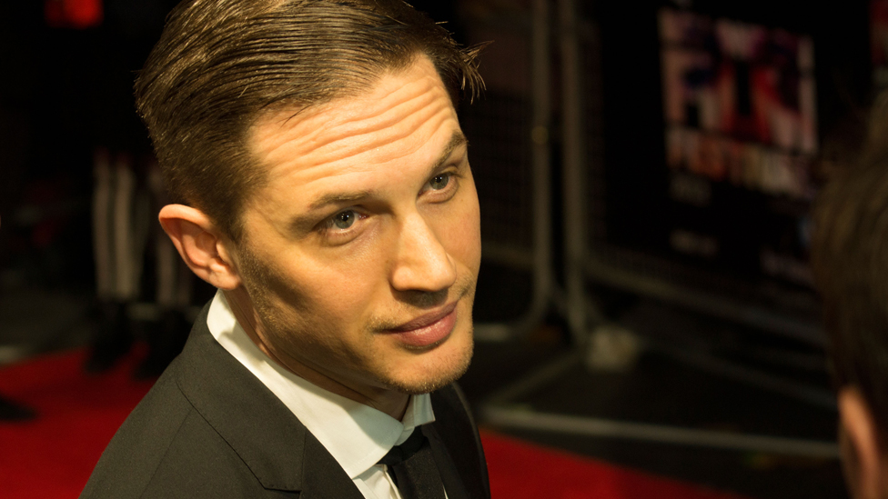 How did Tom Hardy prove himself a good citizen?