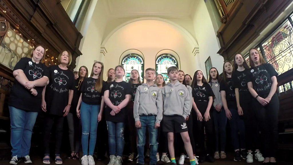 Manchester bombing survivors' choir cope through music