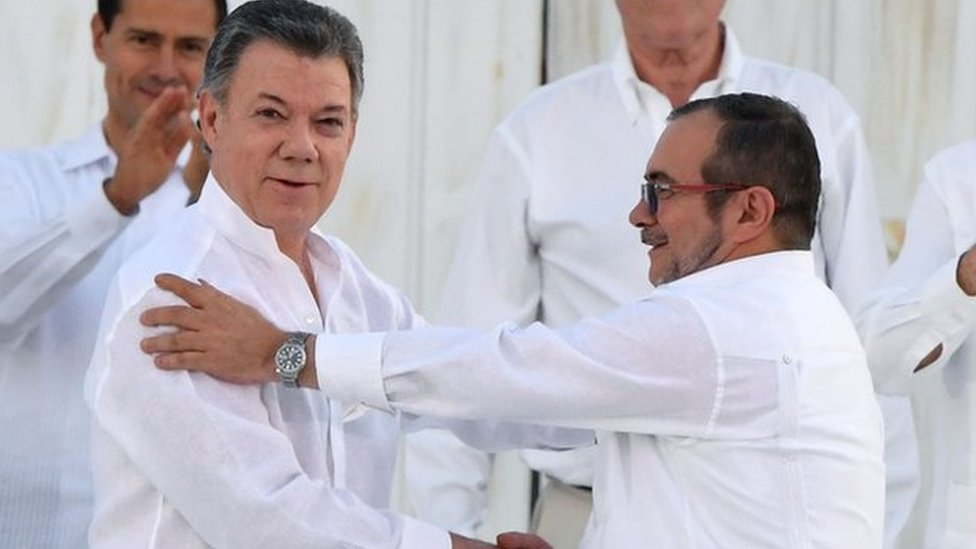Colombia peace deal: Historic agreement is signed