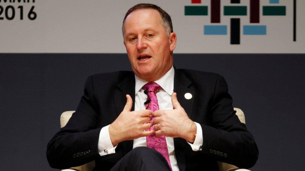 New Zealand Prime Minister John Key in surprise resignation