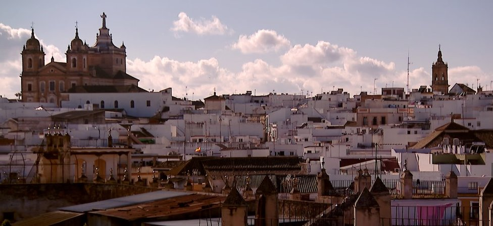 View of Marchena, Spain