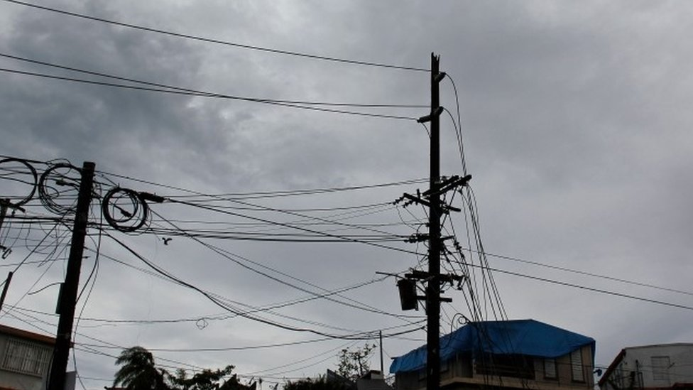 Whitefish Energy: Power company halts Puerto Rico work