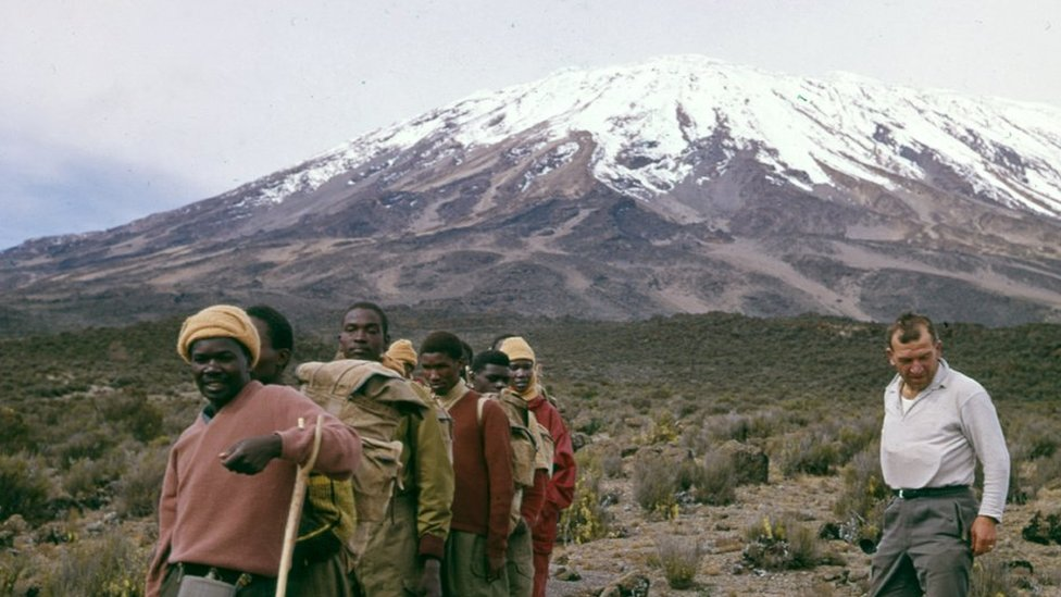 The blind climbers of Kilimanjaro