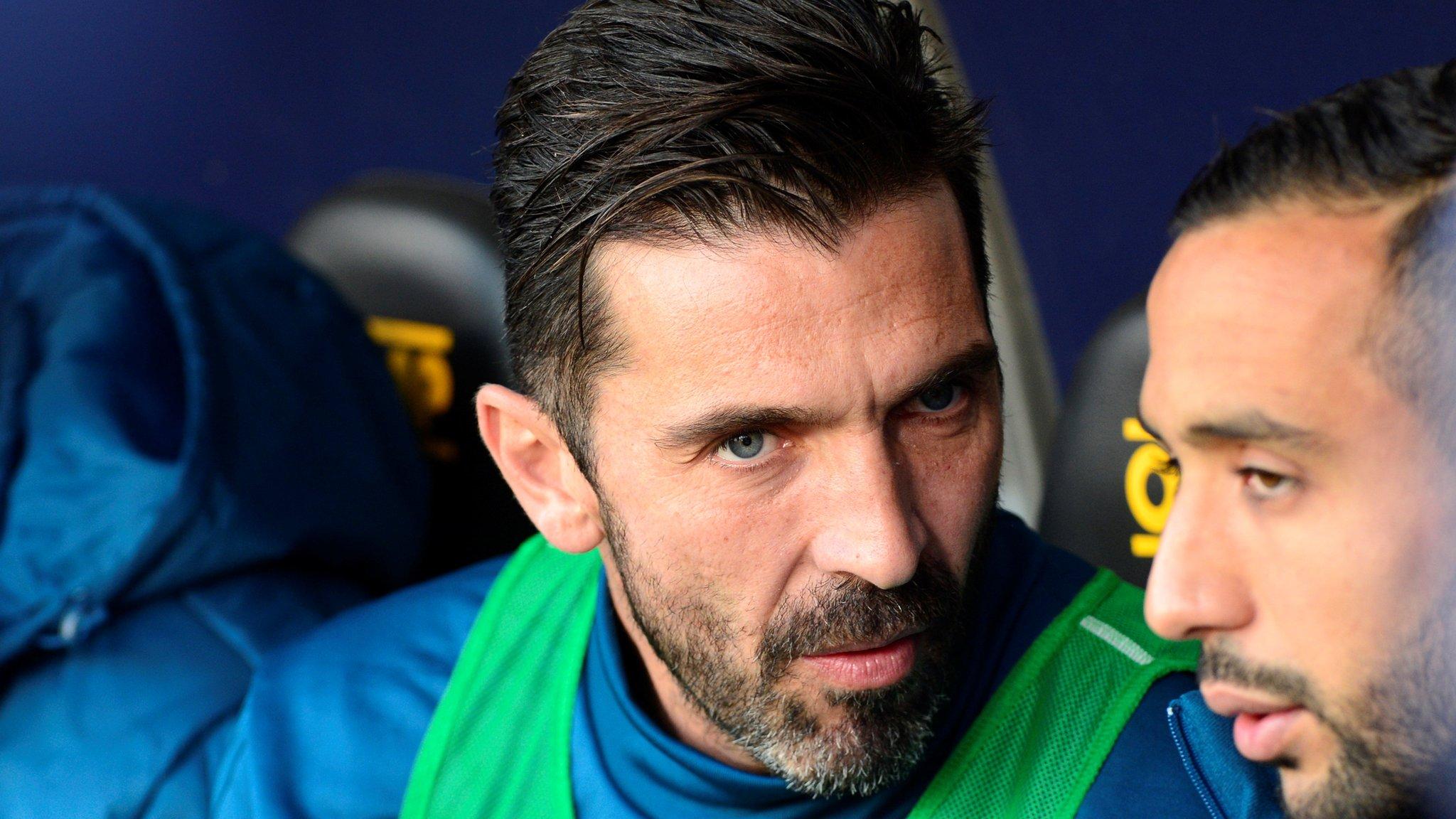 Juventus lose to Sampdoria after resting Buffon