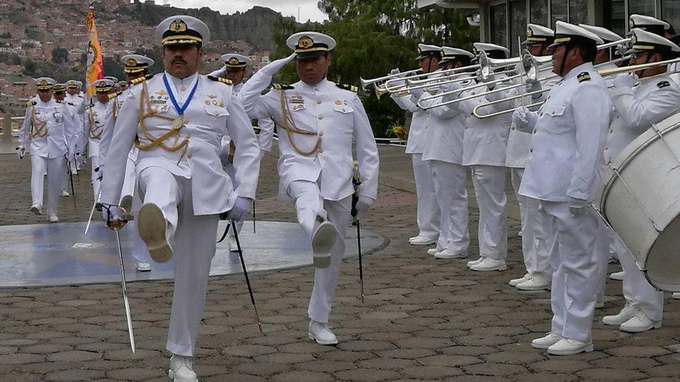 Desfile de la Armada