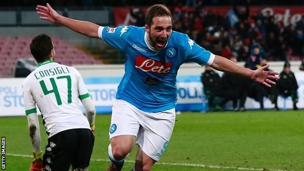 Video: Napoli vs Sassuolo