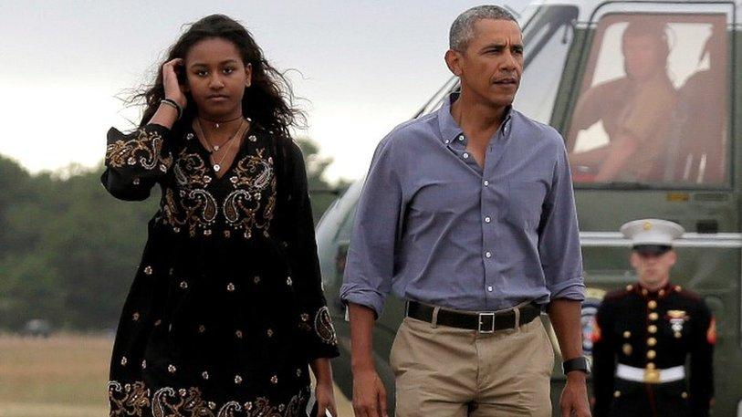 President Obama ridiculed on Snapchat by daughter Sasha
