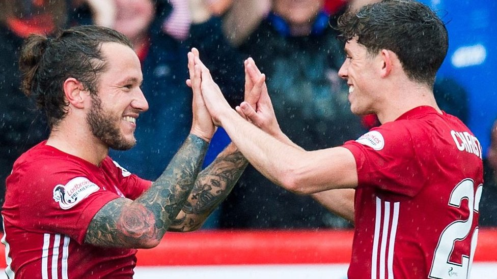 Highlights: May scores twice on home debut in Aberdeen win