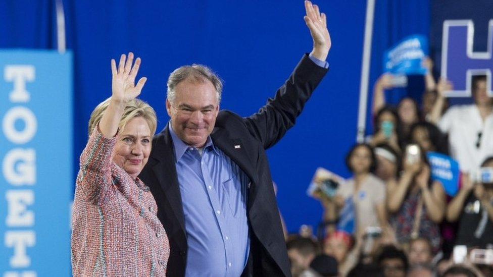 Tim Kaine selected as Hillary Clinton running mate