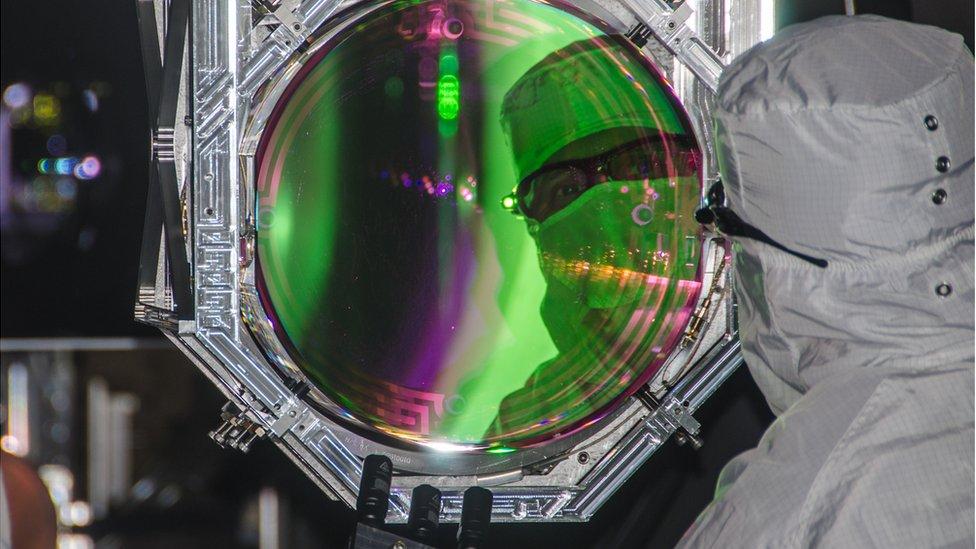 Gravitational waves: Monster black hole merger detected
