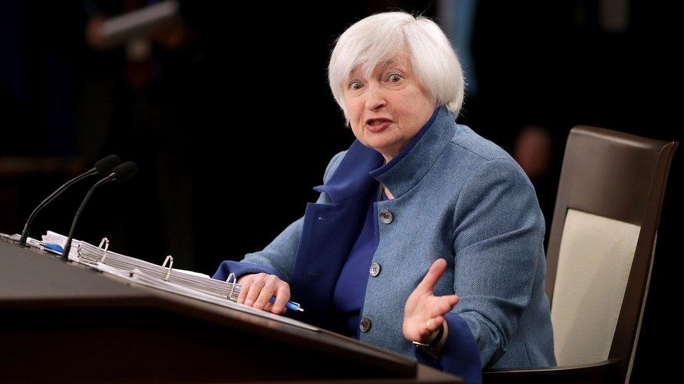 Nadie sabe la estrategia que va a tomar Janet Yellen, la jefa de la Reserva Federal de EE.UU.