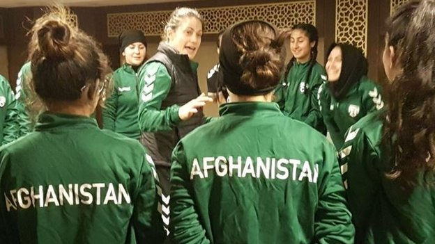 'They get stoned in the street' - how it's 'life or death' for Afghanistan women's players