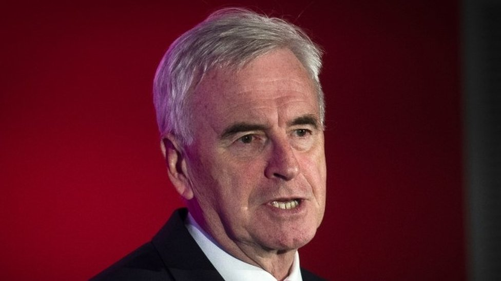 Labour conference: John McDonnell unveils £500 workers share plan