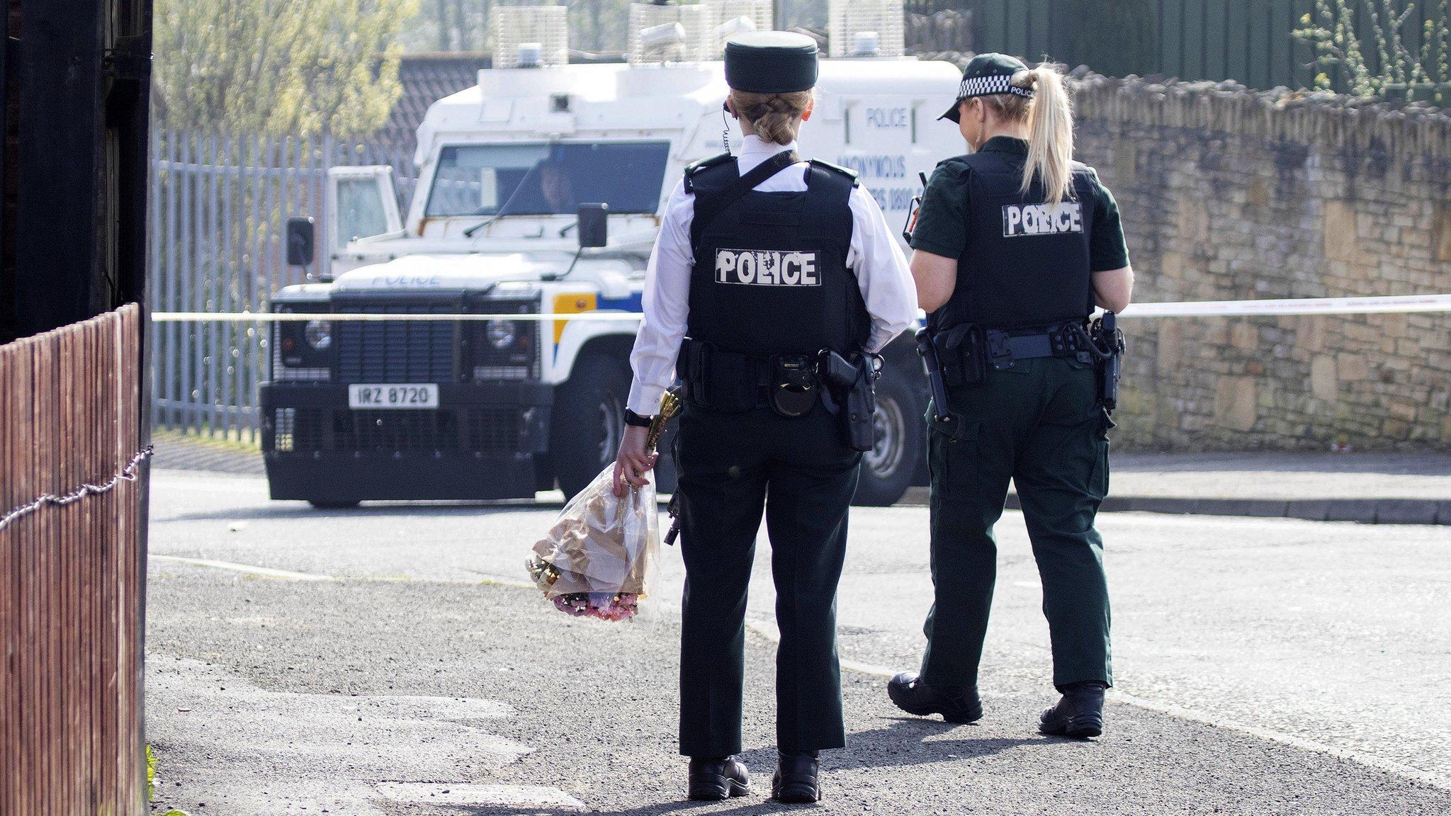 Lyra McKee murder: Derry gunman 'should see hospital heartbreak'