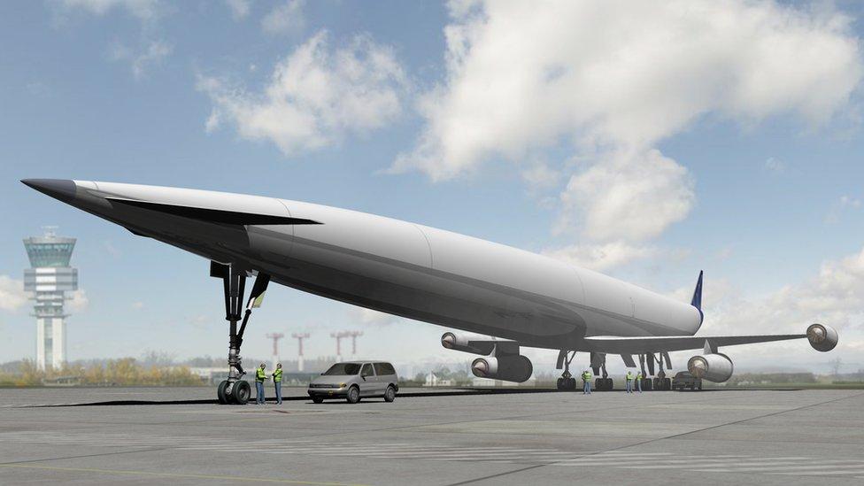 El diseño del jet A2 hipersónico de Reaction Engines busca permitirle transportar pasajeros de Europa a Australia en menos de cinco horas. (Foto: Reaction Engines)