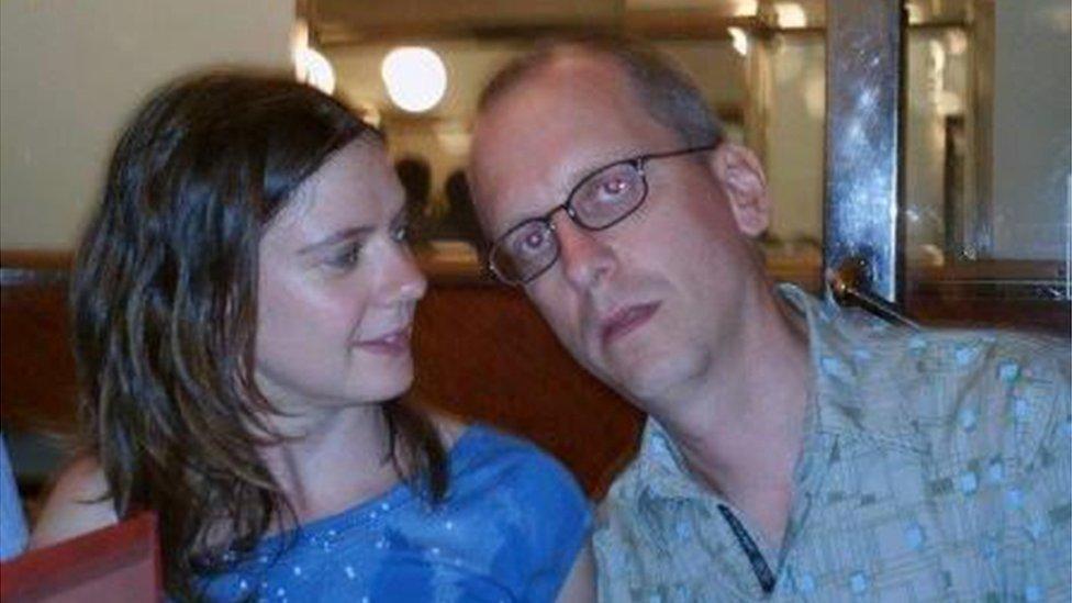 David Dixon and partner Charlotte