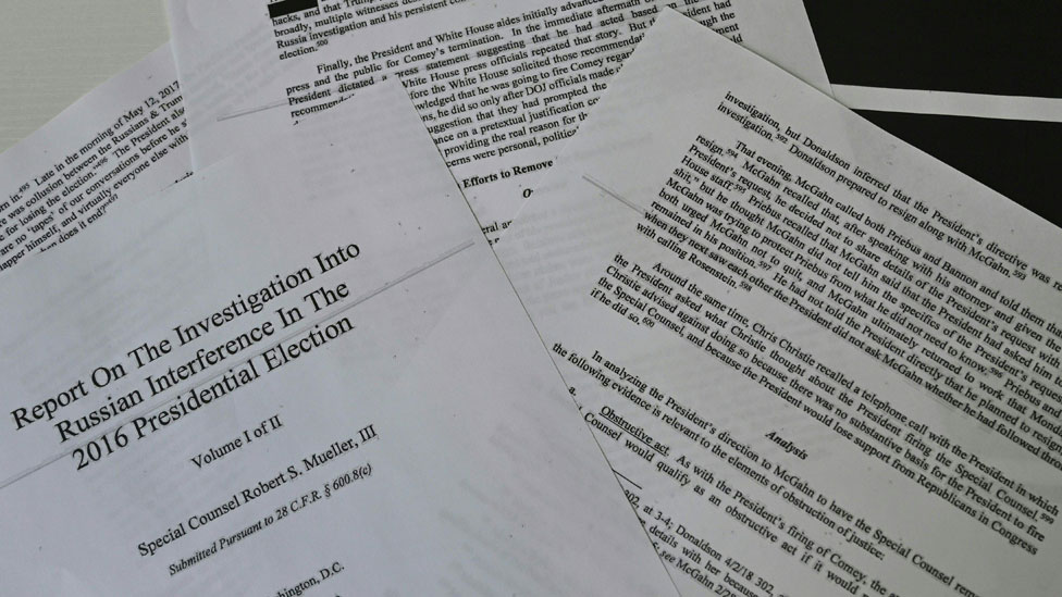 Mueller report: Why wasn't there obstruction of justice?