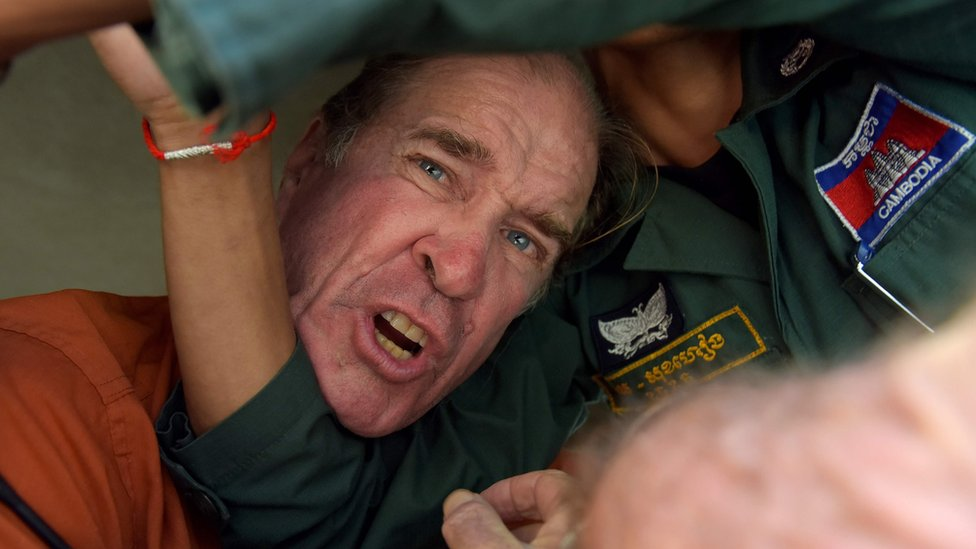 James Ricketson: Jailed Australian filmmaker granted Cambodia royal pardon