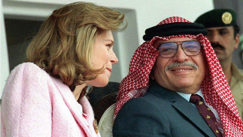 King Hussein of Jordan in 1986
