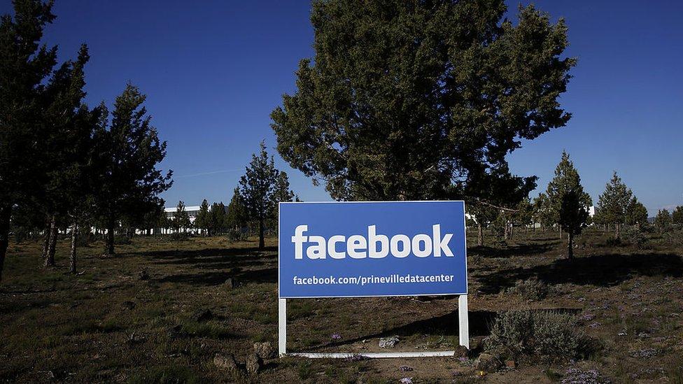 Centro de datos de Facebook en Prineville.